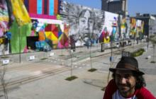 Mural representa unión de las etnias en los olímpicos Río 2016
