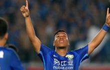 Gol y asistencia de Roger Martínez en el fútbol chino