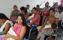 Con charlas educativas, concluye semana de la lactancia materna