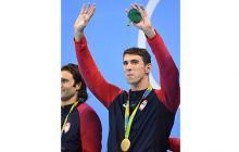 En Río de Janeiro se despide Michael Phelps, el hombre récord