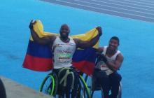 Mauricio Valencia gana medalla de bronce para Colombia en el atletismo de los Paralímpicos