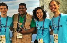 Un fotógrafo ciego rompe paradigmas en los Juegos Paralímpicos de Río