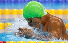Serrano consigue medalla de plata en Río, en 100 metros estilo libre