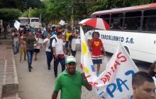 Frente Rojiblanco muestra su apoyo al proceso de paz