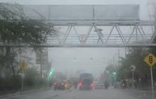 Fuertes lluvias entre hoy y el sábado por el ciclón: Ideam