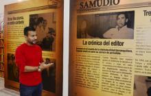 Entre letras y cine Cepeda Samudio 'revive' en exposición del MAUA