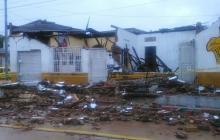 Emergencias en Barranquilla y Puerto Colombia durante la lluvia de este domingo
