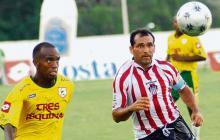 Háyder Palacio Álvarez (derecha), exjugador de Junior.