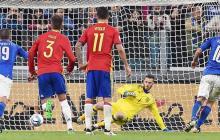 Eliminatoria europea: Italia y España empataron, Croacia goleó a Kosovo