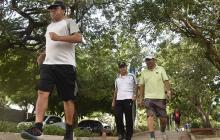 Caminar, una moda que crece en Barranquilla