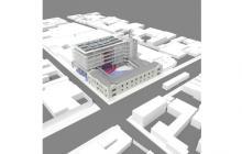 'Render' del proyecto 'La Fábrica de Cultura', ubicado en la carrera 50 con calle 40.