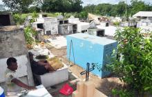 Chochó tiene un cementerio que está en predio ajeno