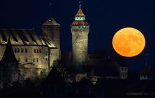 Superluna en Alemania.