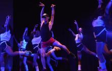 Estudiantes del programa de coreografía se unieron a la agenda de 'Celebra tu música'.