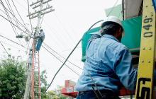 Trabajos de mantenimiento realizados por Electricaribe.