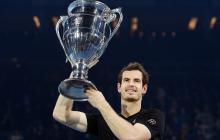 Andy Murray cierra el año como el 'rey del tenis'