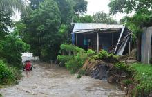Fuertes lluvias vuelven a causar emergencias en Cartagena