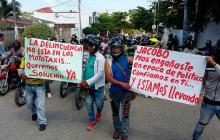 Nuevos disturbios por restricción de parrillero hombre en Sincelejo