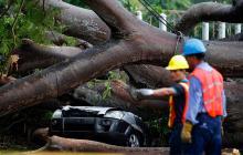 Huracán Otto baja su intensidad y se convierte en tormenta tropical