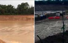 Polémica por desbordamiento del arroyo Bruno