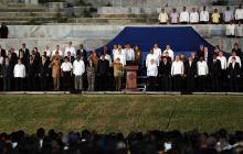 Comienza el acto multitudinario en La Habana para despedir a Fidel Castro