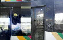 Vándalos apedrean buses de Transmetro en Soledad