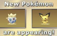 Llegan nuevos pokémons a Pokemon Go