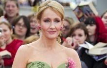 La escritora J.K. Rowling