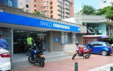Banco asaltado el martes.