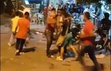 Imagen sacada del video grabado por un poblador.