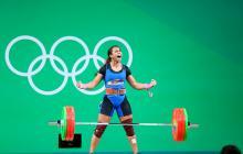 La medallista olímpica Leidy Solís.