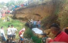 Un muerto y varios heridos deja alud de tierra en Carmen de Bolívar