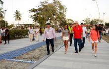 Amplían horario del parque Muvdi: han entrado 163.034 visitantes