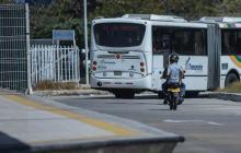 Soledad implementa operativos contra mototaxis en Transmetro