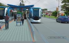 """""""Con el metro ligero saldrían todos los buses de la 30"""": Char"""