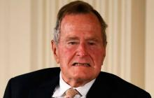 El expresidente George H. W. Bush.