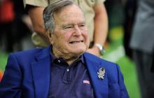 El expresidente George H.W. Bush.