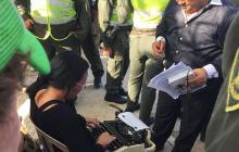 Inspectora ejecuta orden de restitución de lote de Nueva Granada a su propietaria