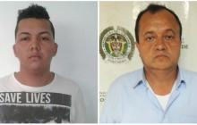 Brayan Alonso García González y Juan Carlos Ramón Sánchez, detenidos.