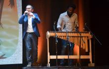 Yuri Buenaventura mostró el Pacífico en la inauguración del Hay Festival