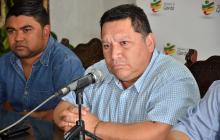 El alcalde de Cartagena, Manuel Duque.