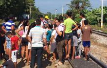 Fenoco se reúne con comunidad en Riofrío, tras muerte de pensionado