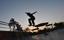 El skate y el BMX tienen su propio espacio en el Muvdi