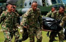 Muere soldado al pisar artefacto explosivo sembrado por las Farc