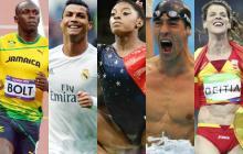 Bolt, Cristiano, Phelps, Biles, Ledecky y Beitia aspiran al Laureus en Mónaco