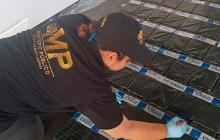 Hallan 276 paquetes de cocaína provenientes de Colombia en tres neveras en Guatemala
