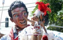 Batalla de Flores del Recuerdo: En la 44 bailaron por la no violencia