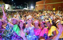 Folclor y orden reinaron en la primera noche de Baila la calle