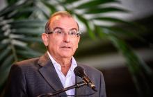 El jefe del equipo negociador del Gobierno en los diálogos de paz con las FARC, Humberto de la Calle.