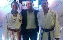 Oro para Shanee Torres y Luis Triviño en nacional de karate